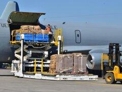 Fuerza Aérea de Chile llevó  31.800 kilos de ayuda humanitaria a Iquique