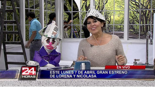 Lorena y Nicolasa ajustan últimos detalles para gran estreno de programa familiar