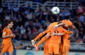 Real Madrid goleó 4-0 al Real Sociedad con golazo de Gareth Bale
