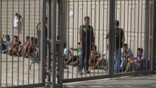 La policía capturó a un grupo de sujetos que intentó saquear el Real Plaza