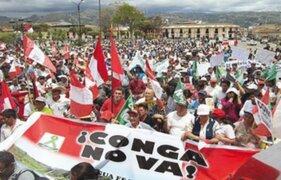 Cajamarca: este lunes reinician protestas contra proyecto Conga