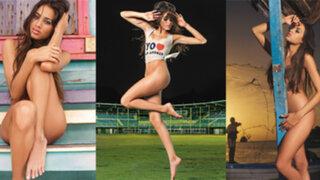 VIDEO: Guapa Laura Archbold posó desnuda en las playas de San Andrés