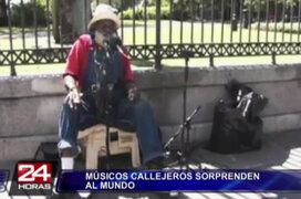 Músicos callejeros siguen sorprendiendo al mundo cantando 'Stand by me'