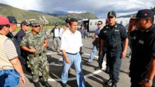 """Ollanta Humala """"Tenemos que hacer de Áncash una región de paz"""""""