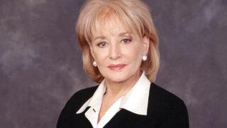 Bárbara Walters se retira de la TV estadounidense tras 50 años de carrera