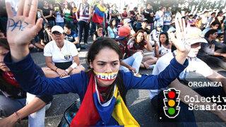 Se esperan más de 500 participantes en marcha contra la crisis en Venezuela
