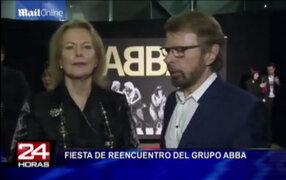 Abba se reunió para celebrar los 40 años de éxito de la canción 'Waterloo'