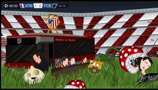 Memes: Barcelona es punto de burlas tras ser eliminado de la Champions League