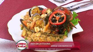 Lorena y Nicolasa: aprende a cocinar un exquisito Arroz con Mariscos