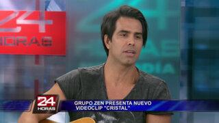 Grupo Zen presenta el videoclip de su nuevo sencillo 'Cristal'