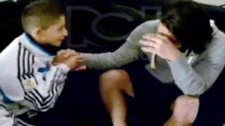 VIDEO: Emotivo mensaje de niño colombiano hizo llorar a Radamel Falcao
