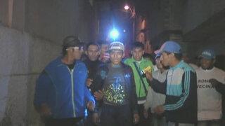 Rondas bravas: Vecinos se unen para combatir delincuencia en cerro San Cosme