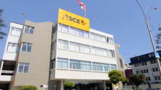 OSCE: Más de cien empresas inhabilitadas siguen contratando con el Estado