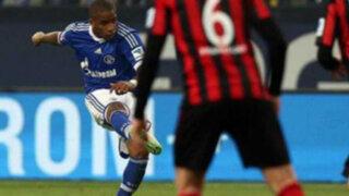 Bloque Deportivo: con gol de Farfán Schalke venció 2-0 al Eintracht Frankfurt