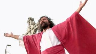 El 'Cristo Cholo' Mario Valencia se prepara para la Semana Santa
