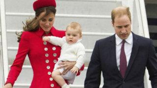 Príncipe George roba miradas en visita de Duques de Cambridge a Nueva Zelanda