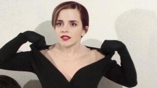 La historia detrás del 'topless' de Emma Watson