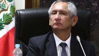 Premier René Cornejo ratificó respaldo a Daniel Urresti pese a críticas