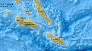 Terremoto de 7,6 grados en las Islas Salomón provocó alerta de tsunami en Oceanía