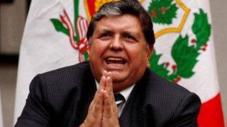 """Alan García: """"Humala se quitó la careta, manda a su asalariado a denunciarme"""""""