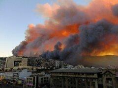 Chile: nuevo incendio forestal se desató en San Antonio
