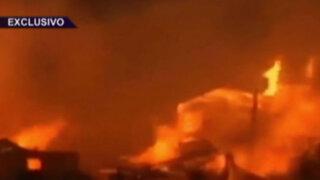 Incontrolable infierno en Valparaíso: nueva tragedia en Chile