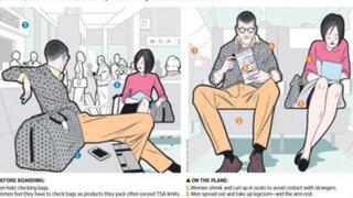 FOTOS: cosas que diferencian a hombres y mujeres a la hora de viajar