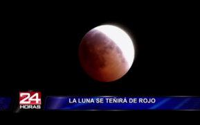 Conozca todo sobre el eclipse y luna 'sangrienta' que será vista esta noche