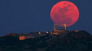 Mira la transmisión en vivo del eclipse de la 'luna de sangre'