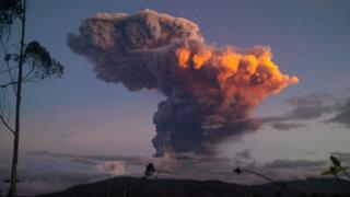 Alerta máxima en Ecuador por explosión del volcán Tungurahua