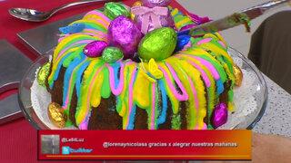 Lorena y Nicolasa: aprenda a preparar una torta para la fiesta de Pascua