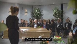 Impactante campaña en Bélgica: conductores asisten a su propio funeral