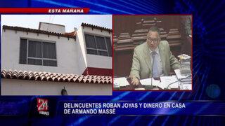 Roban casa de Amando Massé y se llevan joyas y dinero por US$200 mil