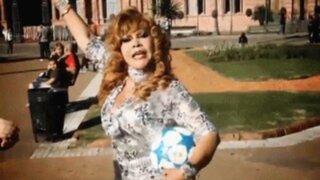 La Tigresa del Oriente lanzó su polémico tema 'No llores por mí, Argentina