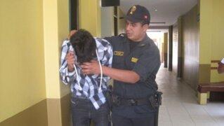 La policía capturó a presuntos involucrados en asesinato de Carlos Burgos hijo