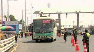 Semana Santa: 3,000 policías resguardan la seguridad en carreteras del país