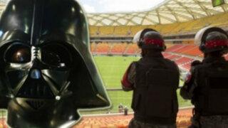 Policía brasileña usará máscaras al estilo Darth Vader en el Mundial 2014