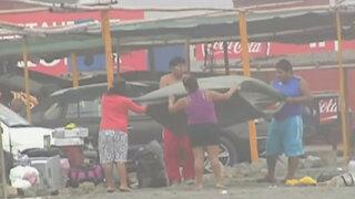 Semana Santa: Limeños colaboraron con recojo de basura en playas