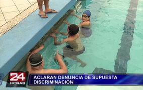 Federación Peruana de Natación rechaza discriminación