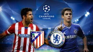 Champions: Atlético Madrid y Chelsea se miden en electrizante duelo por las 'semis'