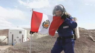 """Primer científico peruano en """"Marte"""" narra su experiencia"""