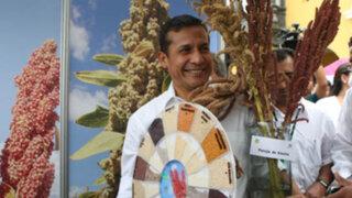 Presidente Humala: La quinua es motor de desarrollo de las zonas altoandinas