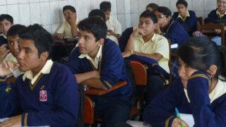 Alumnos de distritos piuranos muestran carencia de aprendizaje