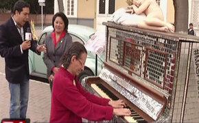 Barranco: municipio lanza campaña 'Más pianos a tu vida' para promover música