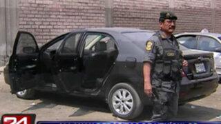 Intervienen depósitos de vehículos y autopartes robadas en Independencia