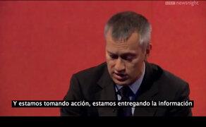 Muestran a presidente de Coca Cola la cantidad de azúcar que tiene su gaseosa