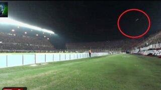 Argentina: captan a presunto Ovni en partido de San Lorenzo Vs Botafogo
