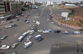 Etiopía: este es el caótico cruce donde las personas arriesgan sus vidas