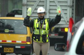 Susana Villarán reitera su pedido para descentralizar a la policía de tránsito