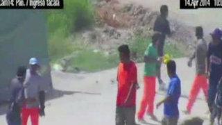 Bandas de construcción se enfrentan por cupos en Piura